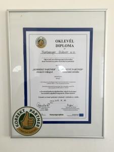 """Non-Stop Autómentés - Vác - PMKIK """"Korrekt Partner"""" díj"""